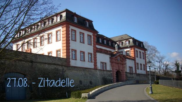27.08.16 Führung durch die Mainzer Zitadelle