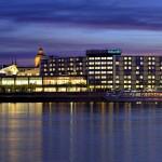 Das Hilton-Hotel in Mainz