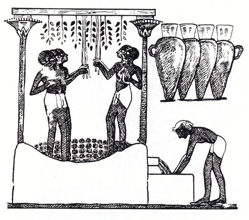 Weinkelter (egypt)