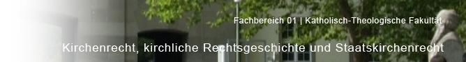 FB 01 - Katholisch-theologische Fakultaet