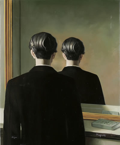 Art Painting About Rene Magritte