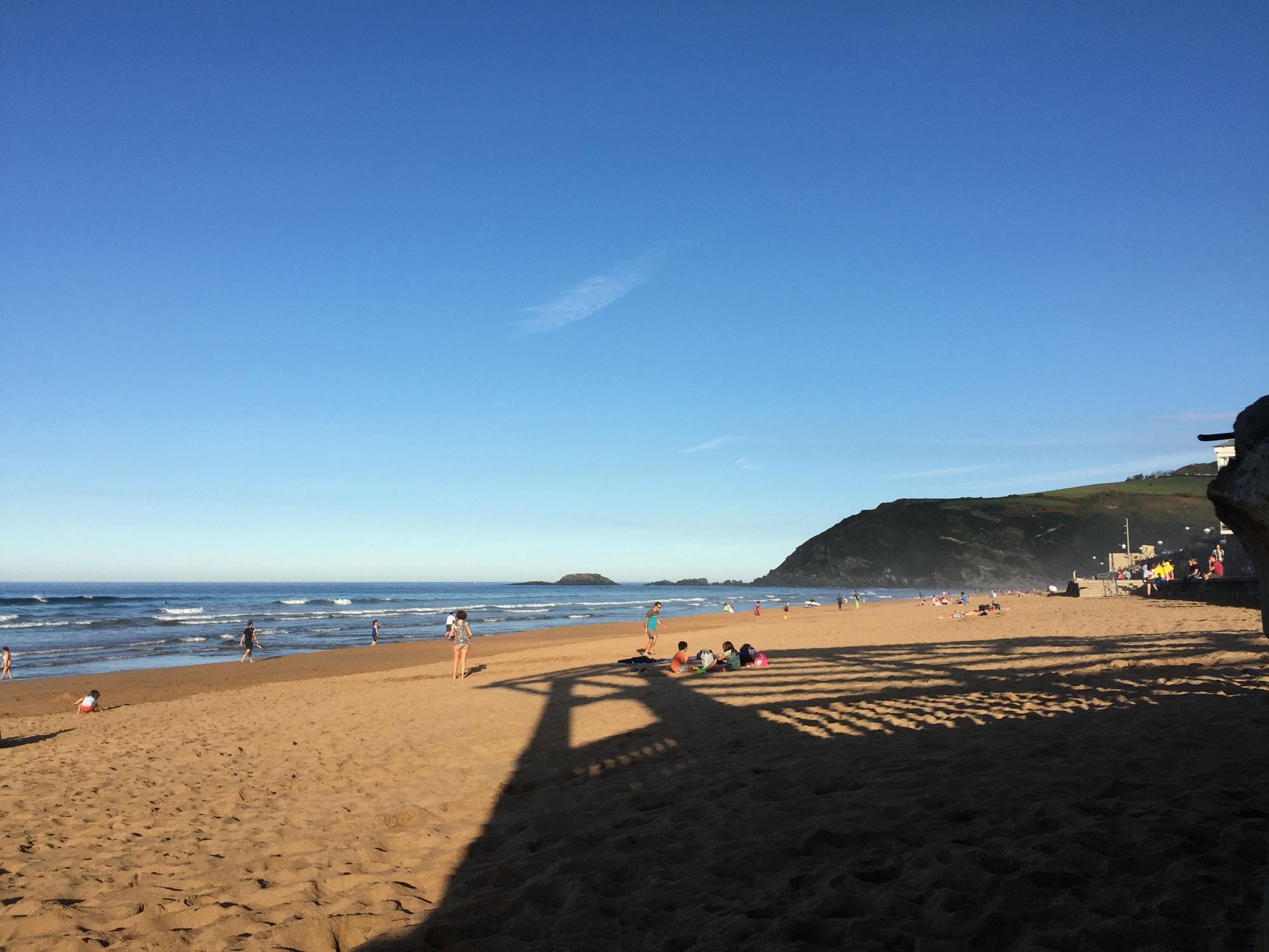Strand von Rarautz, Baskenland