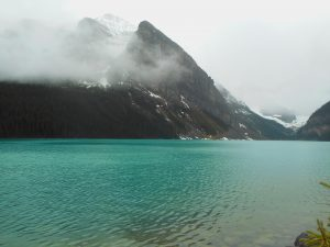 Lake Louise im Banff Nationalpark.