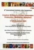 Poster announcing the 8th Janheinz Jahn Symposium 2004