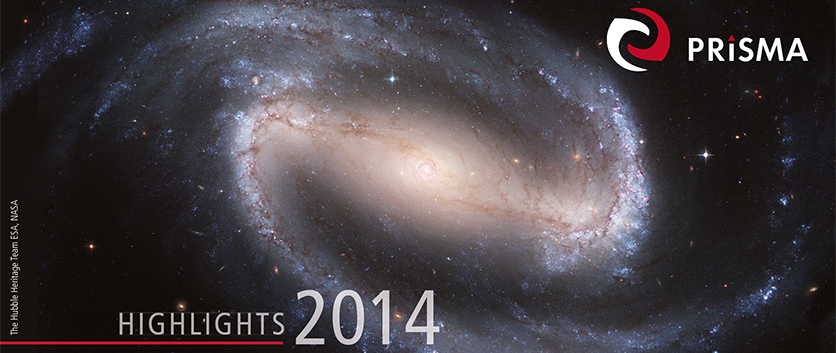 PRISMA Highlights 2014 - Cover