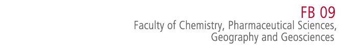 FB 09 - Faculty of Chemistry, Pharmaceutical Sciences, Geography and Geosciences