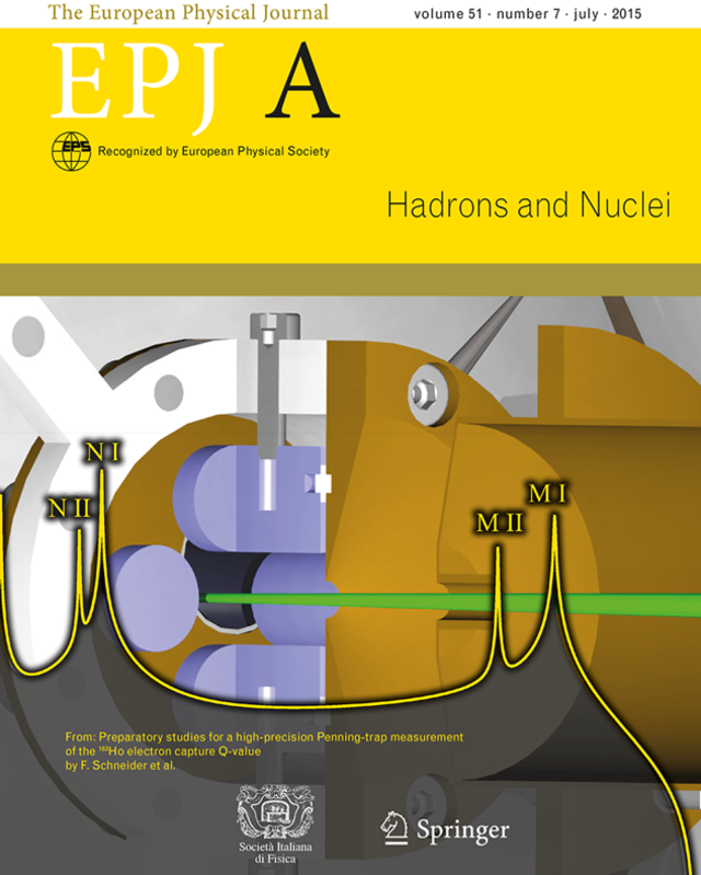Cover of EPJ A