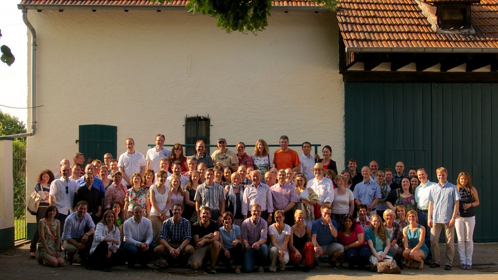 Alumni Reunion at the Summer Party in Bodenheim 2013.