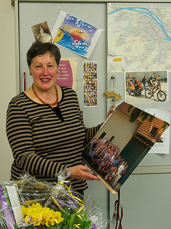 Retirement of Renate Michaelis