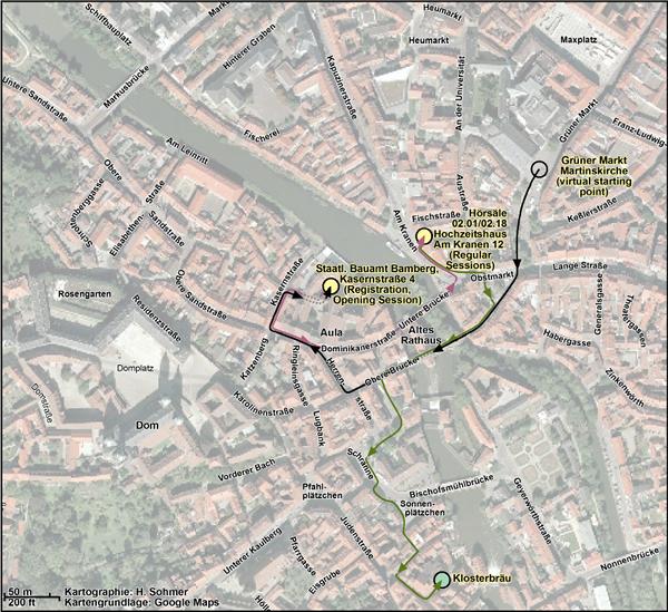 Bamberg Innenstadt_allerneuste Route
