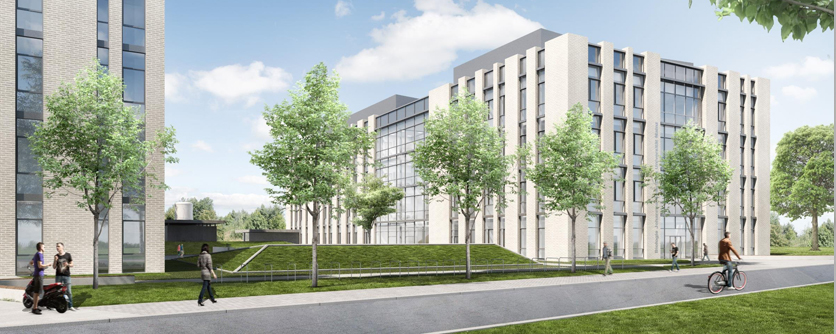 New buildings for the Faculty of Biology - BioCenter I and II - Biocenter II will be ready in autumn 2020