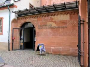 Eingang Bf. Dom- und Diözesanmuseum Mainz