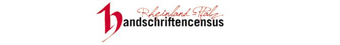 Handschriftencensus Rheinland-Pfalz