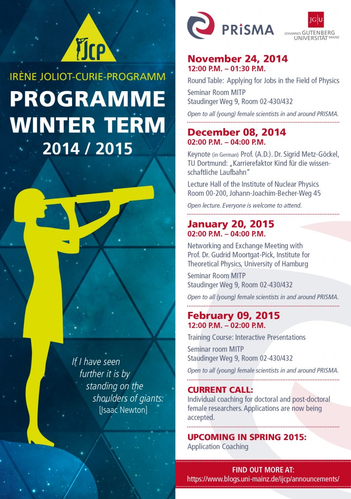 Flyer_Wintersemester_2014_15