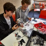 Lego Mindstorms Aufbau