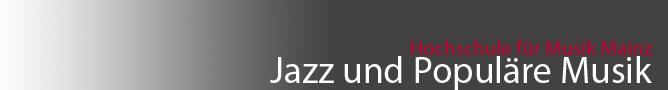 Jazz und Populäre Musik