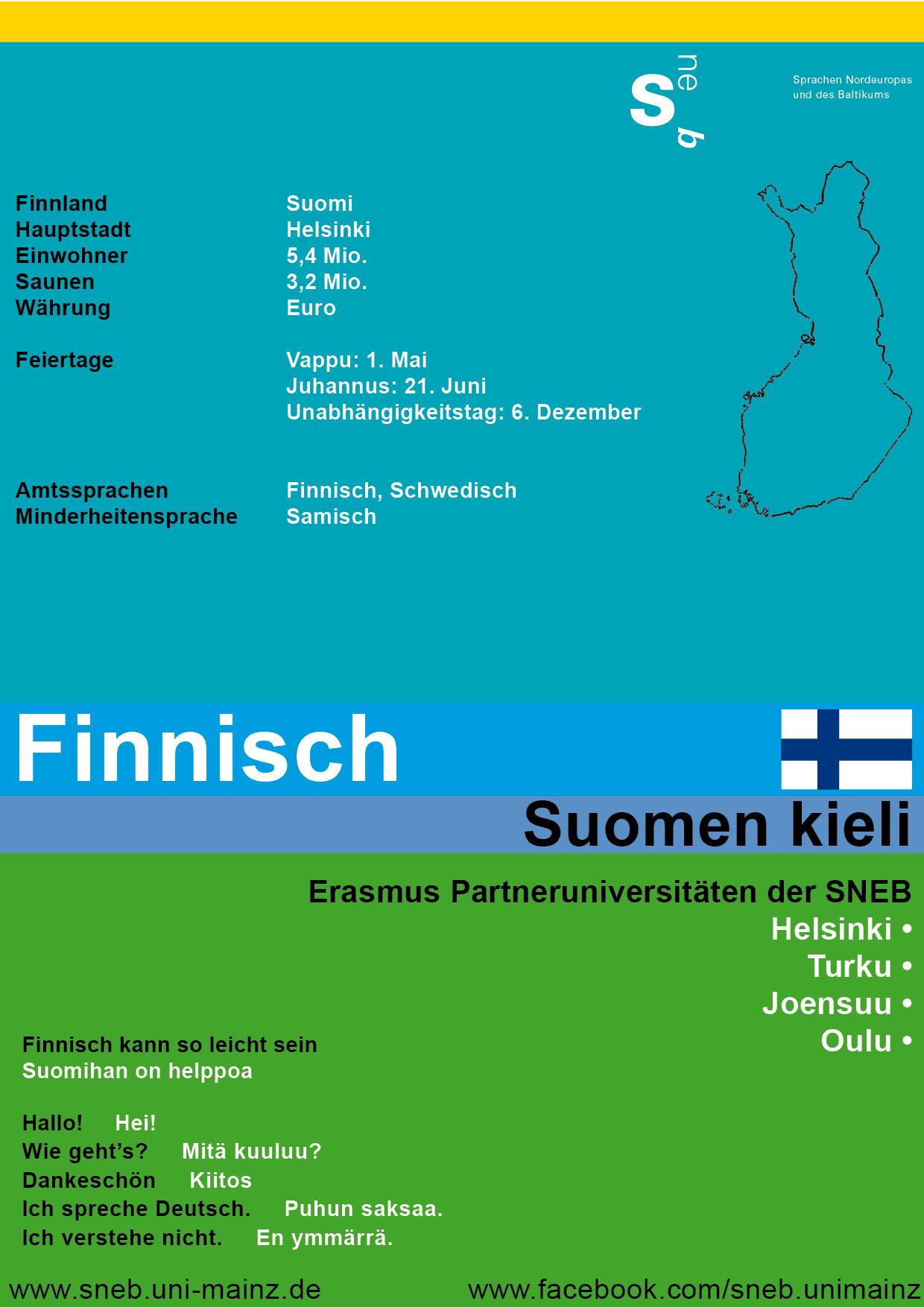 Tafel Finnland