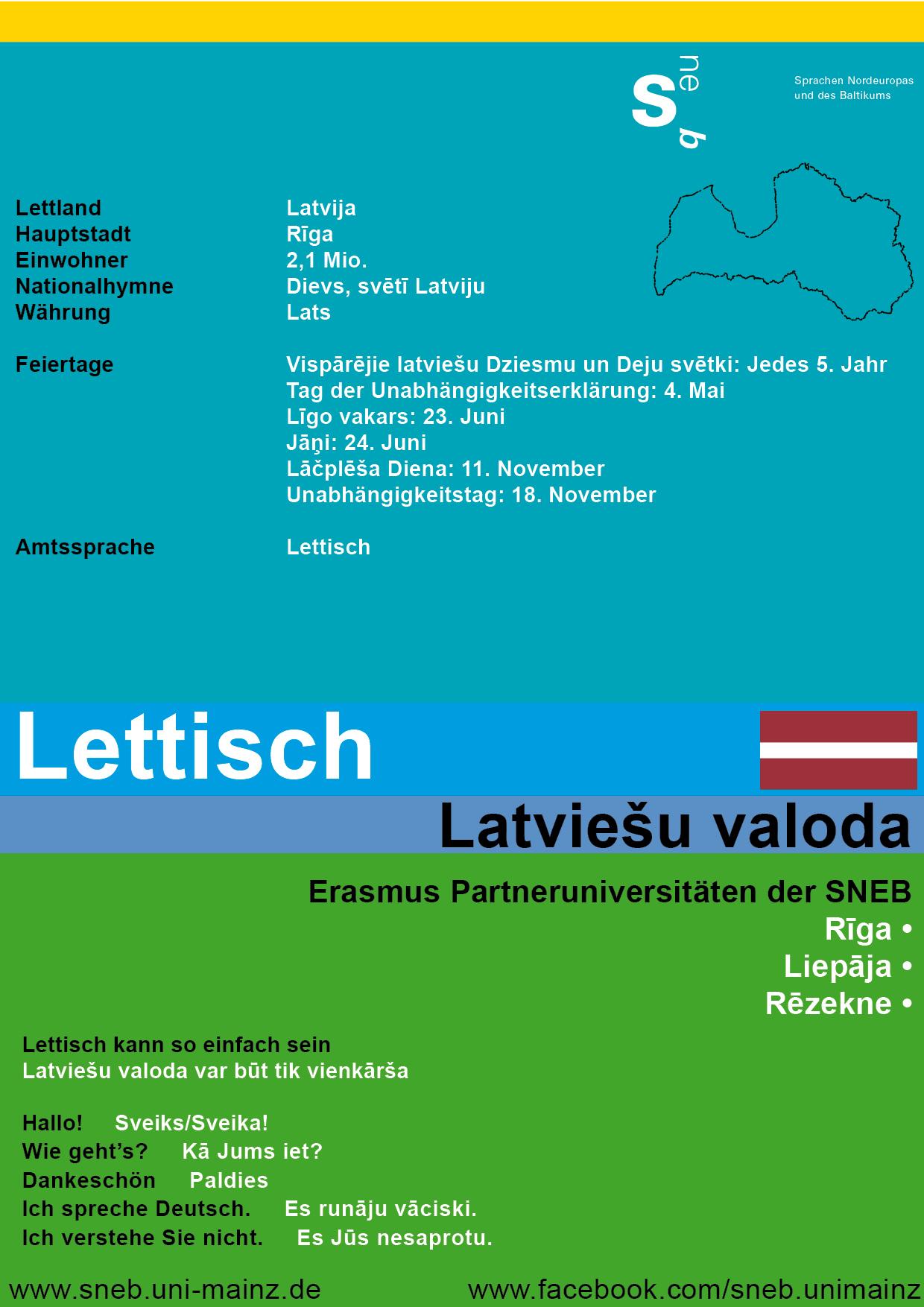 Tafel Lettland
