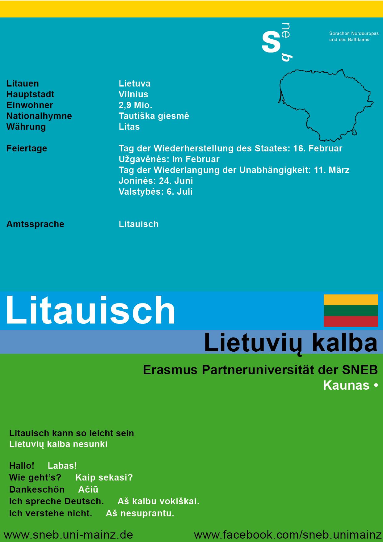 litauisch an der uni mainz sprachen nordeuropas und des baltikums. Black Bedroom Furniture Sets. Home Design Ideas