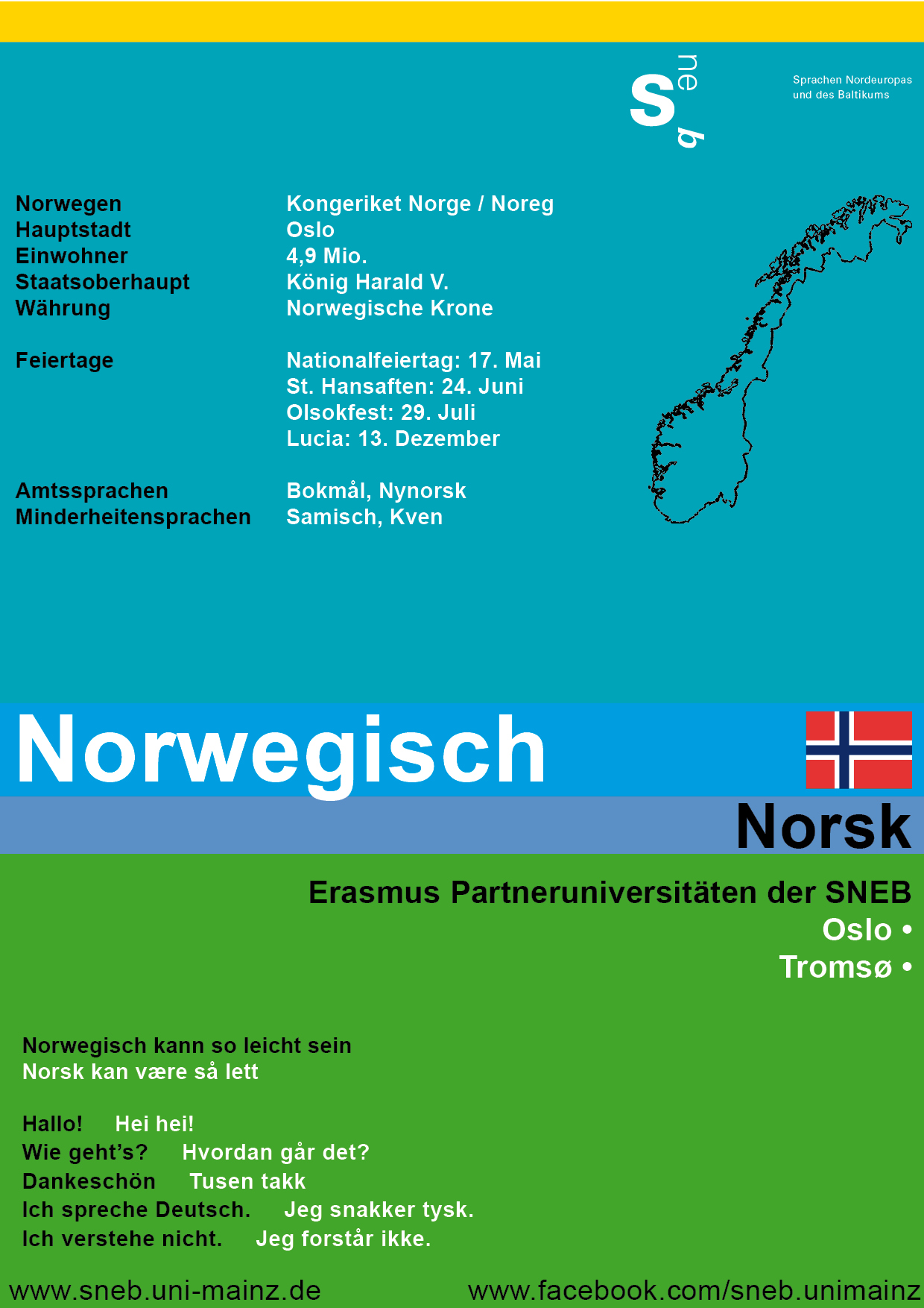 Tafel Norwegen