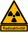 Achtung radioaktiv